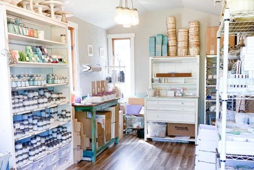 Outer Banks Candle Co. Store and Creation Process